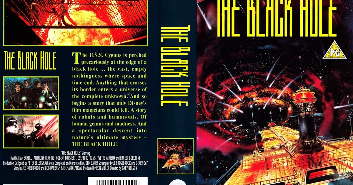 STARLOGGED - GEEK MEDIA AGAIN: 1979: THE BLACK HOLE UK VHS ...