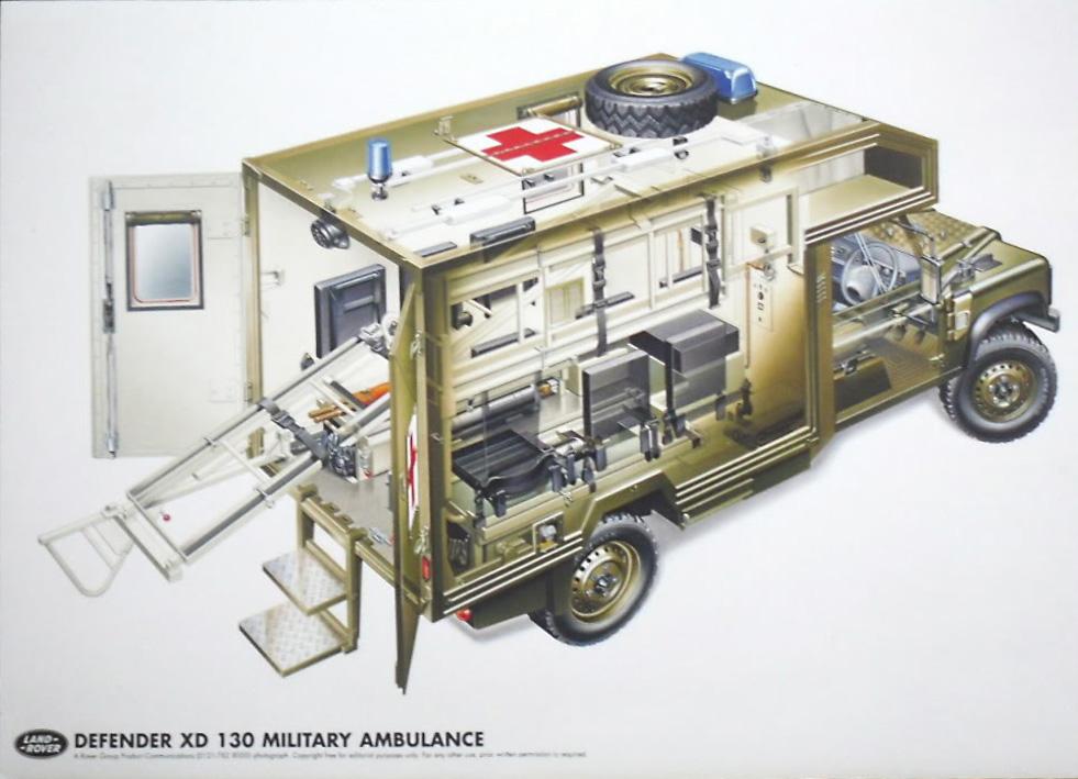 Land Rover Katy: Ambulances