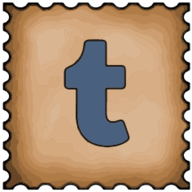 tumblr stamp icon