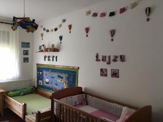 filc dekoráció, gyerekszoba dekoráció filcből
