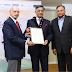 Baba N Kalyani conferred with Qimpro Platinum Standard 2016 Business Award