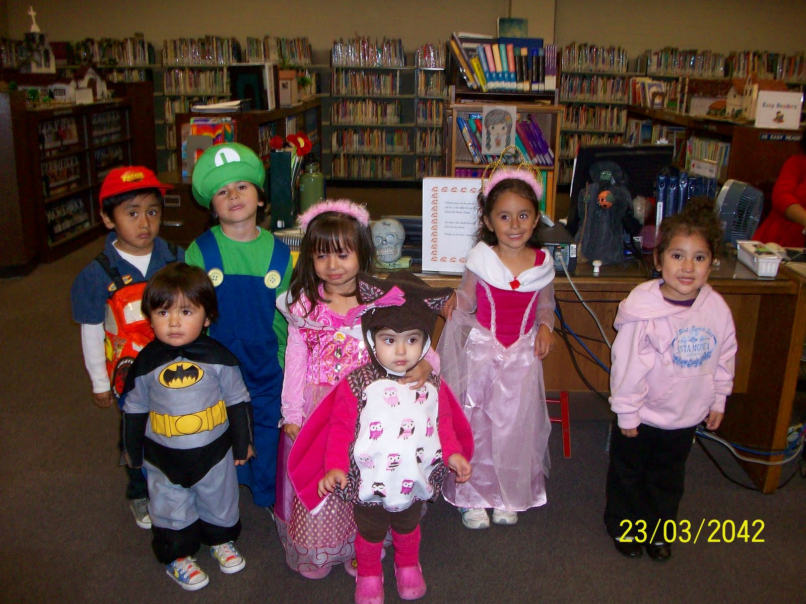 Pomona Public Library Preschool Trick Or Treat
