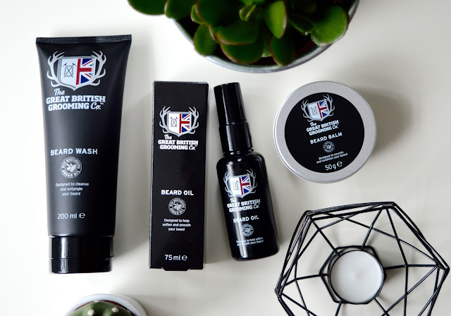 The Great British Grooming Co Beard set