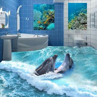 kamar mandi 3 dimensi