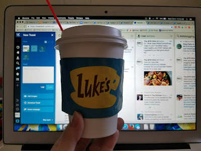 luke's coffee and twitter scheduling