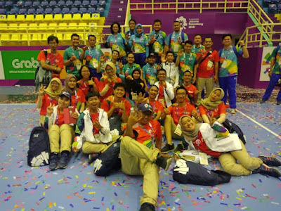 volunteers asian games 2018