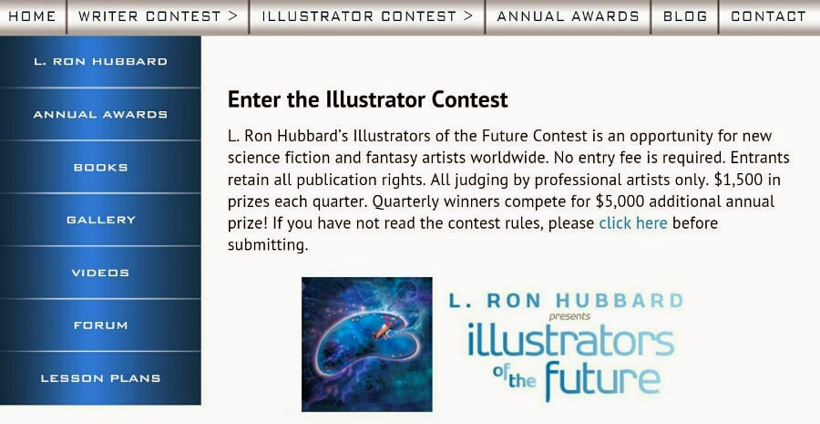 Visualartzi Illustrator L hubbard contest