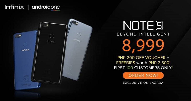 Infinix Note 5 is the last Infinix smartphone in the Philippines?