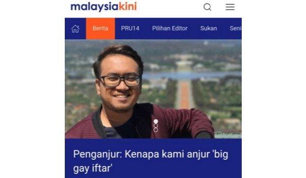 #MalaysuaBaru: Penganjur IFTAR GAY Kini Pegawai Khas Kementerian Belia & Sukan?