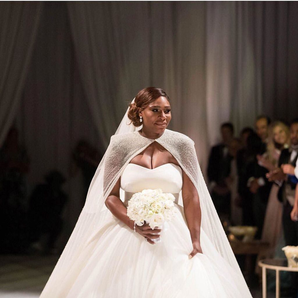serena williams wedding photos