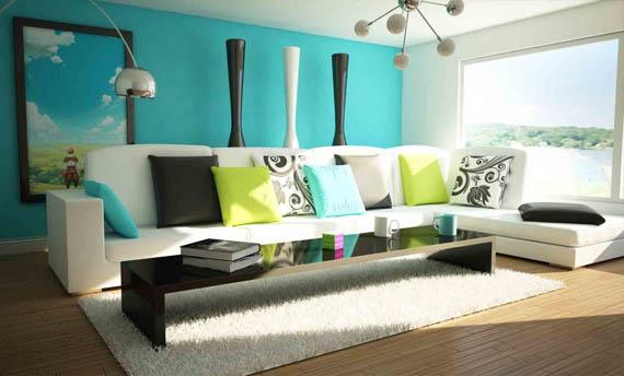 Warna Cat Ruang Tamu Menurut Feng Shui