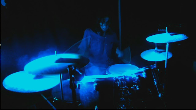 ivan jaramillo recording drums, grabando la bateria par el video the gatekeeper of the universe , metal colombiano