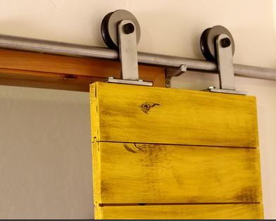Fotos y dise os de puertas fabricar puerta corredera - Mecanismo puerta corredera ...
