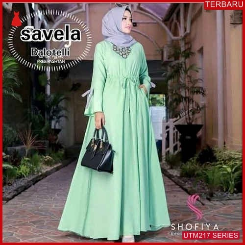UTM217S90 Baju Savella Muslim Dress UTM217S90 0D9 | Terbaru BMGShop