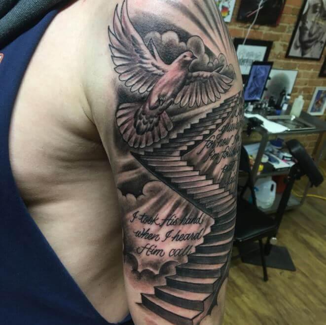 Wrist tattoo boy