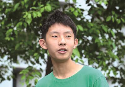 用程式解決生活中的小問題:15歲少年周秉宇