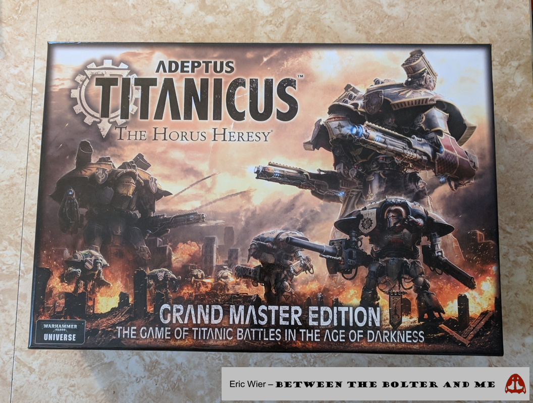 Between the Bolter and Me: Adeptus Titanicus: Impressions