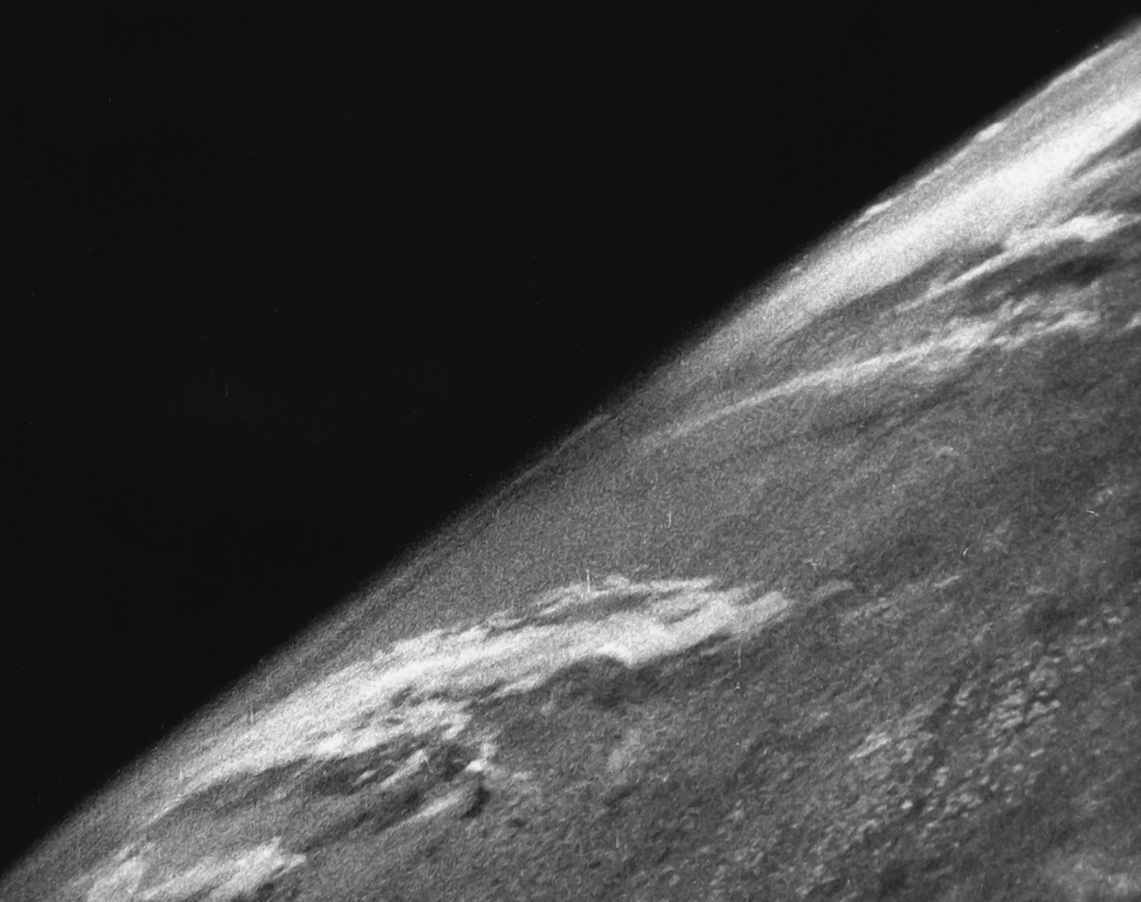 Earth from space in 1946