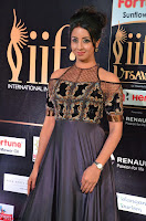 Sanjjanaa Galrani aka Archana Galrani in Maroon Gown beautiful Pics at IIFA Utsavam Awards 2017 22.JPG