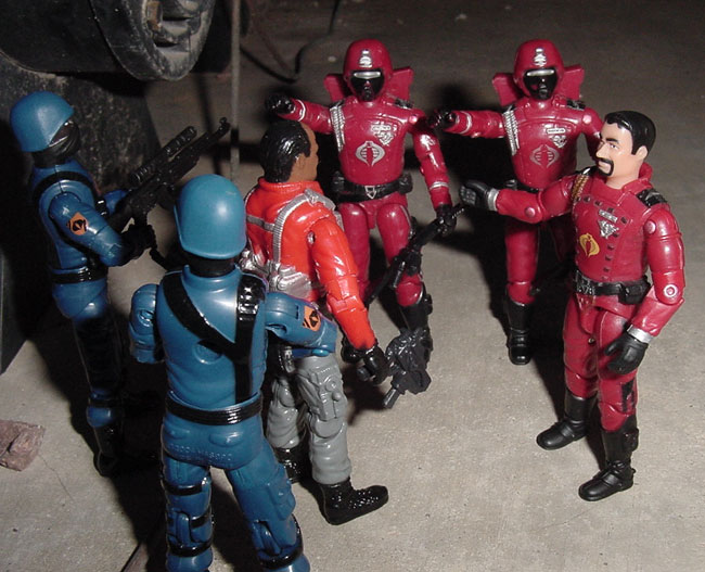 2003 Agent Faces Crimson Guard Disguise, Mail Away, 2004 Cobra Trooper, Cobra Flying Scorpion, Estrela, Brazil, Escorpiao Voador