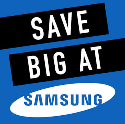 Save Big on Samsung products