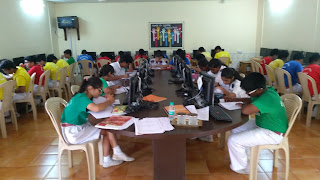 Aptitude Testing by Career Counsellor Farzad Damania at Army Public School Mumbai