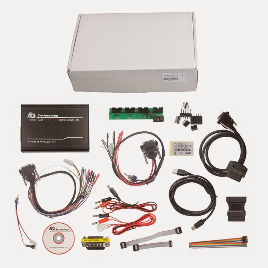FGTech Galletto 4 BDM-TriCore-OBD Function