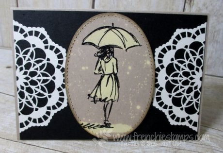 Beautiful You, Stitched Framelits, Lace Doilies Stampin'Up!