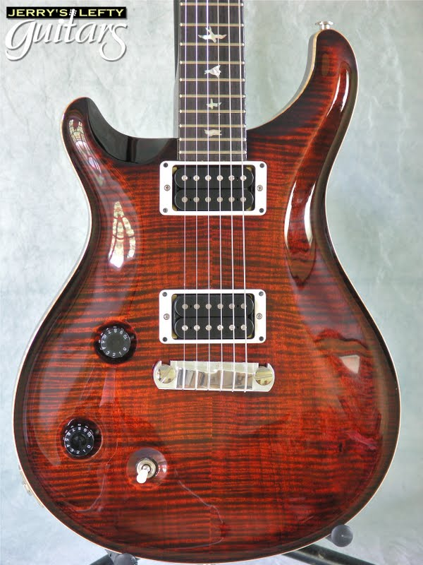 jerry 39 s lefty guitars newest guitar arrivals updated weekly prs custom 22 fire red left. Black Bedroom Furniture Sets. Home Design Ideas