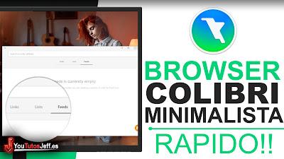 Descargar Colibri Browser - Navegador Rápido y Simple