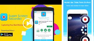 6 Aplikasi Perekam Layar (Screen Recorder) HP Android Terbaik 2019
