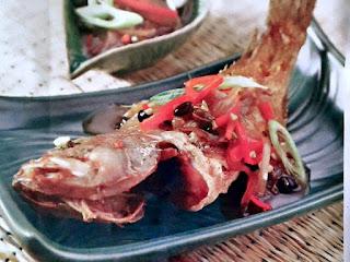 Gambar Resep Ikan Kerapu Saus Taosi