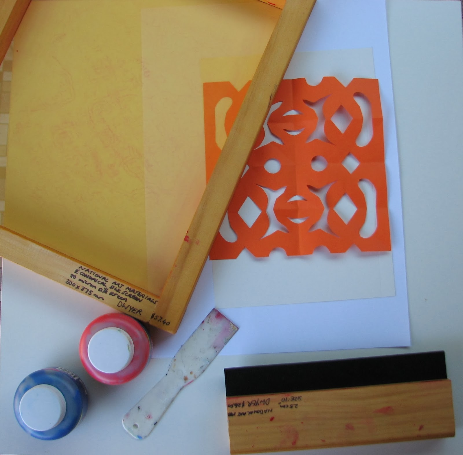 Arty Crafty Studio Simple Easy Screenprinting With Kids