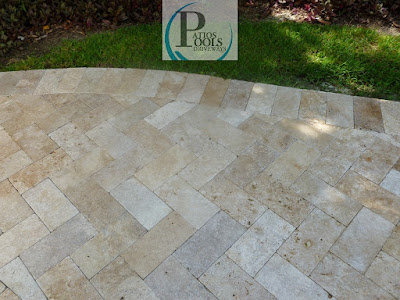 #travertinepavers #pooldeck