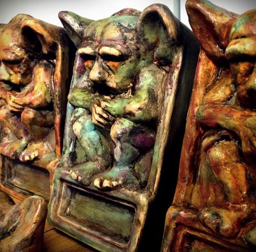 The Skinner Barn: Andy Skinner: Strange Goings-On At The Craft Barn