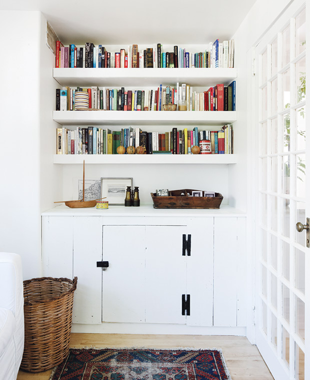 Mini Library  - Deb Nelson Decorator and Stylist.