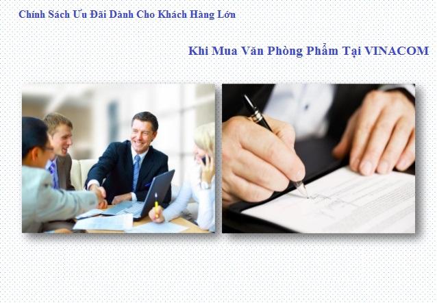 chinh sach uu dai danh cho khach hang lon mua van phong pham