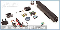 FBI GPS Tracking device teardown