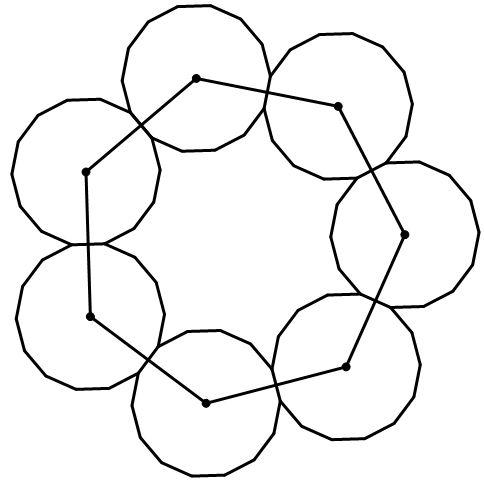 mathrecreation: tetradecagons and heptagons
