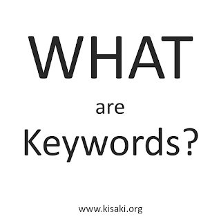 What are Keywords