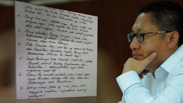 Anas Urbaningrum: Bapak SBY, Tahukah Bapak Berapa Kali Demonstran Dikirim ke Rumah Saya?