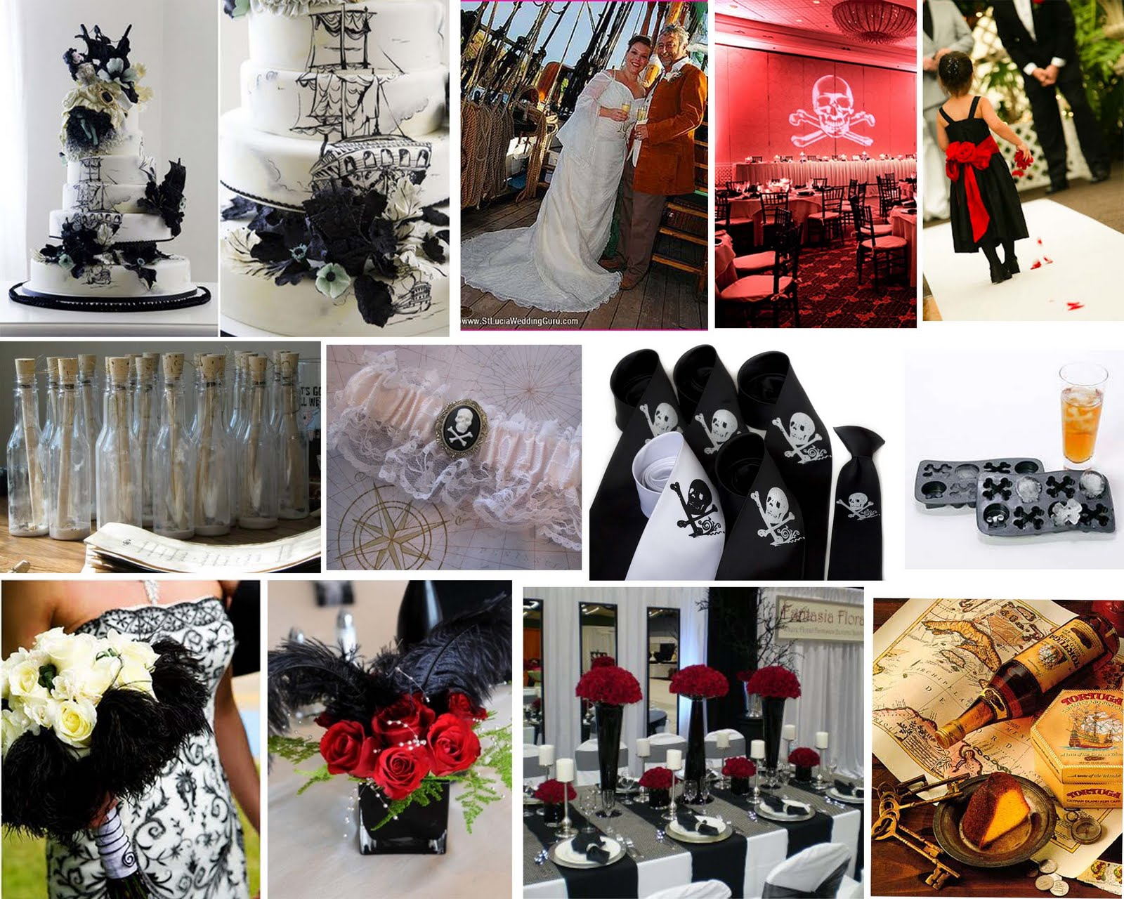 Wedding Decor: 'Pirate Wedding Theme' Enjoy The Ride Full