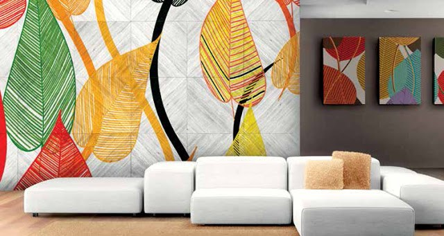 Motif Dinding Rumah Dengan Print Wallpaper