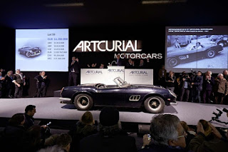 Top 10 most expensive cars in the world sold at auction