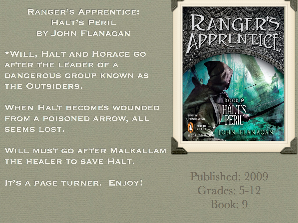 Ranger's Apprentice: Halt's Peril By John Flanagan