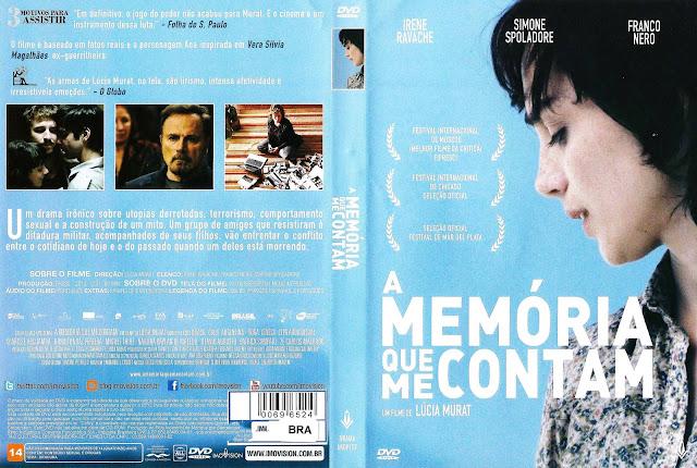 Capa DVD A Memória Que Me Contam