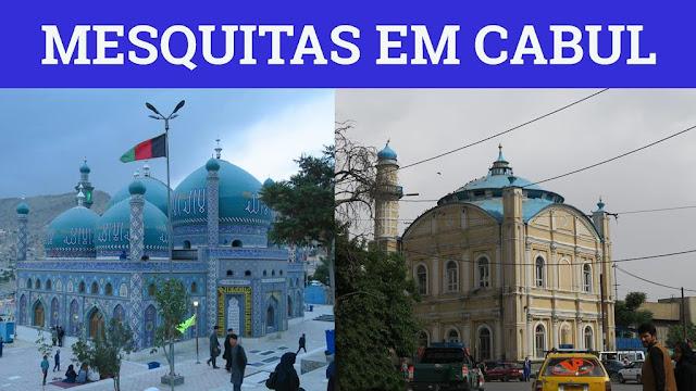 Mesquitas em Cabul