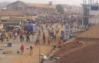 , Muslim youths attack another Catholic Church, says Friday belongs to us (photos), Latest Nigeria News, Daily Devotionals & Celebrity Gossips - Chidispalace