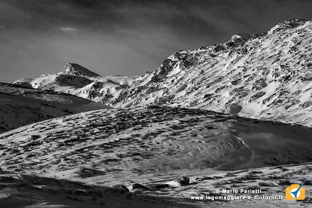 Panorama in bianco e nero