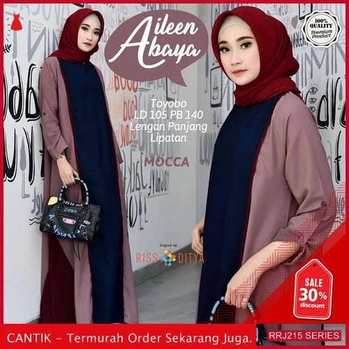 Jual RRJ215D203 Dress Maxy Aileen Wanita Abaya Wd Terbaru BMGShop